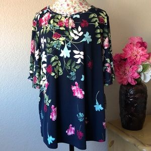 NWT!! Charter Club Floral Top